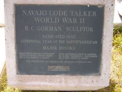 Navajo Code Talker image. Click for full size.