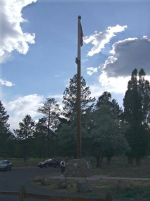 Flagstaff Flag-Raising Monument image. Click for full size.