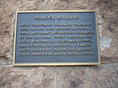 Pollock Building Marker image. Click for full size.