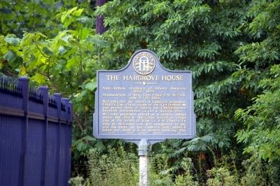 The Hargrove House Marker Photo, Click for full size