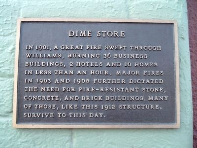 Dime Store Marker image. Click for full size.