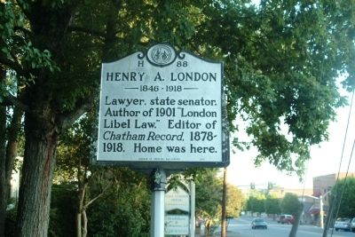 Henry A. London Marker image. Click for full size.