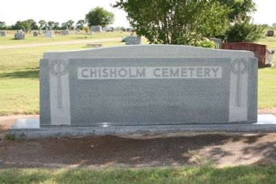 Chisholm Cemetery Monument image. Click for full size.