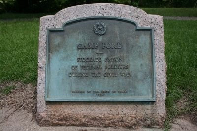 Camp Ford 1936 Marker Photo, Click for full size