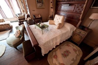 Edison�s Home, Bedroom in Which Edison Died image. Click for full size.