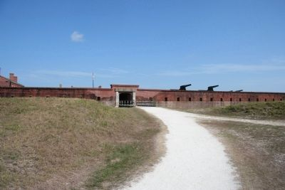Fort Clinch Military Road Photo, Click for full size
