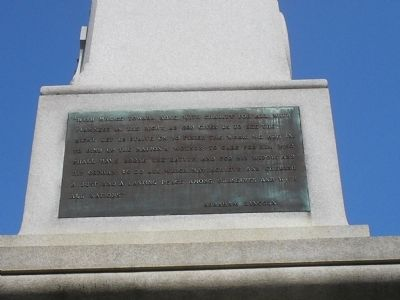 Right of Monument Photo, Click for full size