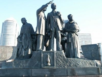 International Underground Railroad Monument image. Click for full size.