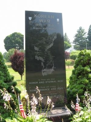 Bristol Korean War Monument image. Click for full size.