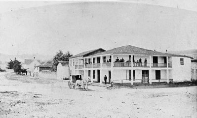 Larkin House - pre-1900 image. Click for full size.