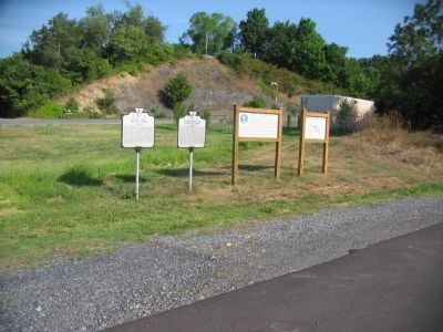 Markers at Guard Hill Photo, Click for full size