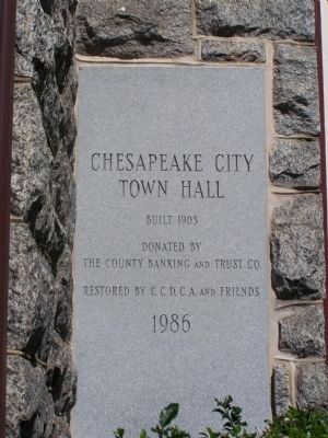National Bank of Chesapeake City image. Click for full size.