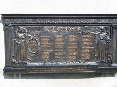World War I Monument Marker image. Click for full size.