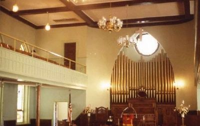 Williams Chapel A.M.E. Church Interior Photo, Click for full size