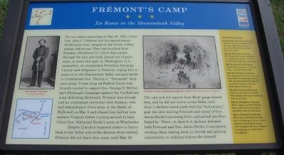 Frémont's Camp Marker image. Click for full size.
