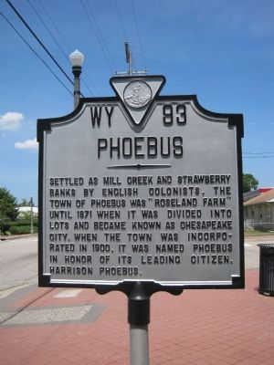 Phoebus Marker image. Click for full size.