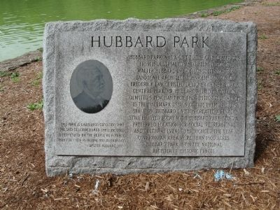 Hubbard Park Marker image. Click for full size.