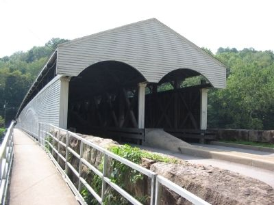Entrance to the Covered Bridge image. Click for full size.