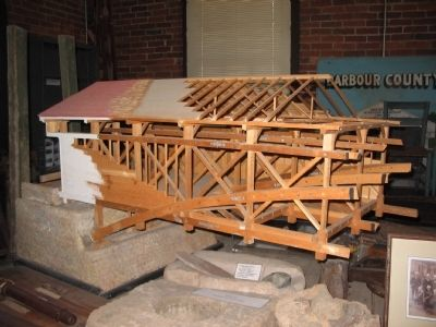 Model of the Bridge image. Click for full size.