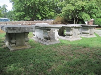 Burwell Tombs within the churchyard Photo, Click for full size