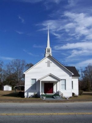 Tillman Baptist Church image. Click for full size.