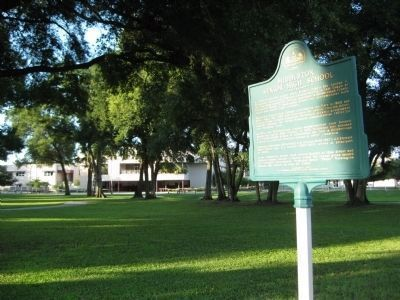 Middleton High School and Historical Marker image. Click for full size.