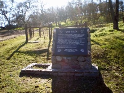 Grub Gulch Marker image. Click for full size.