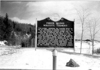 Fisher Bridge Marker image. Click for full size.