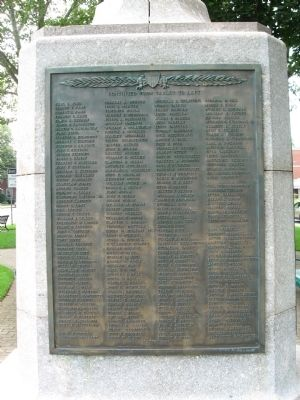 Southington Veterans Monument image. Click for full size.