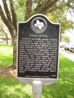 Sally Scull Marker image. Click for full size.