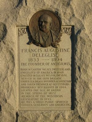 Francis Augustine Deleglise Marker image. Click for full size.
