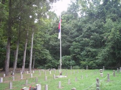 Kittrell Confederate Cemetery Photo, Click for full size