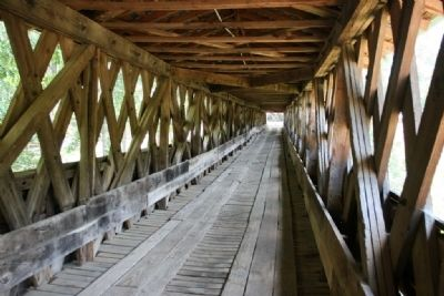 Clarkson Covered Bridge image. Click for full size.