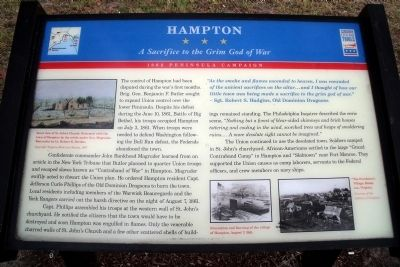 Hampton CWT Marker image. Click for full size.