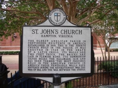 St. John's Church Marker Photo, Click for full size