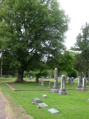 Pontotoc City Cemetery image. Click for full size.