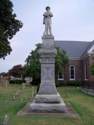 Hampton Confederate Monument (front) image. Click for full size.