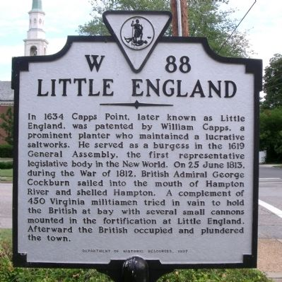 Little England Marker image. Click for full size.