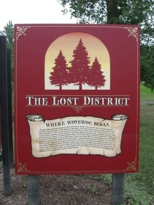 The Lost District Marker Photo, Click for full size