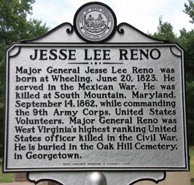 Jesse Lee Reno Marker image. Click for full size.