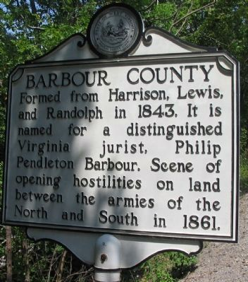 Barbour County Side image. Click for full size.