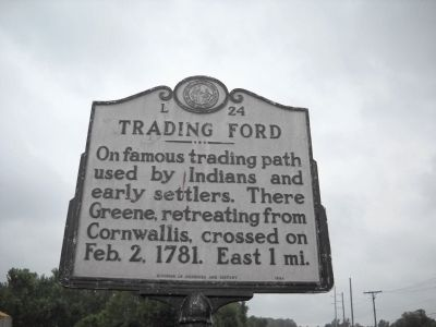 Trading Ford Marker image. Click for full size.