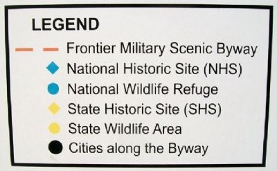 Frontier Military Scenic Byway Map Key image. Click for full size.