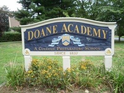 Doane Academy sign image. Click for full size.