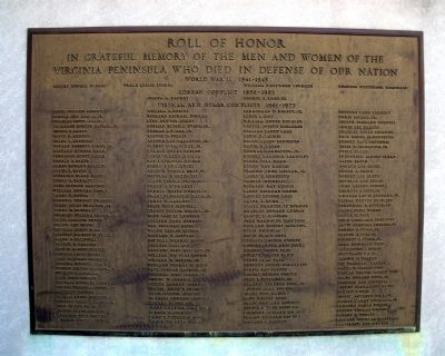 Roll of Honor image. Click for full size.