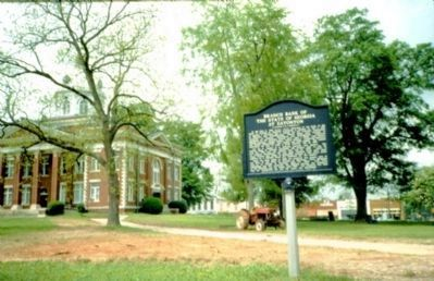 Branch Bank of the State of Georgia at Eatonton Marker Photo, Click for full size