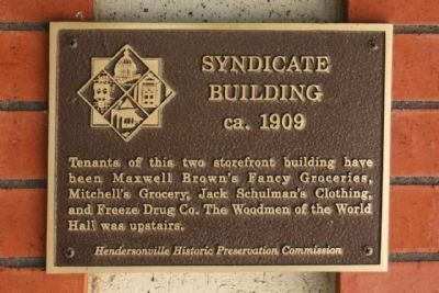 Syndicate Building Marker image. Click for full size.