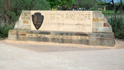 Mission San Jose Site Marker image. Click for full size.