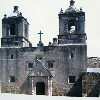San Antonio Missions Photo on Marker image. Click for full size.