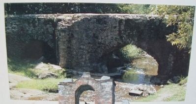 Espada Aqueduct Photo on Marker image. Click for full size.